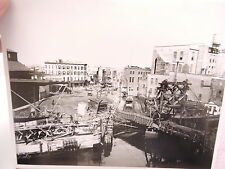 1904 GOWANUS Canal Hamilton Ave Red Hook Brooklyn Trolley Photo 8 x 10