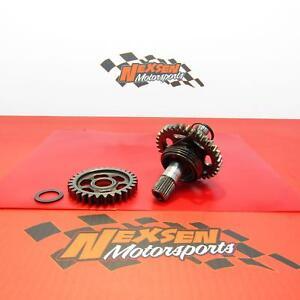 2009-Honda-Crf250r-Kickstart-Kick-Start-Shaft-Idler-Gear-Spindle-28210-KRN-670