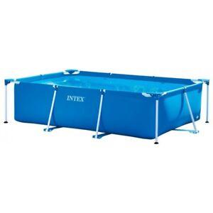 Intex Family Schwimmbecken Swimming-Pool Stahlrohrbecken blau 300x200x75cm WOW!