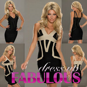 NEW-SEXY-DRESS-FORMAL-PARTY-DANCE-GOING-OUT-NIGHT-CLUBBING-Sz-4-6-8-10-12-S-M-L