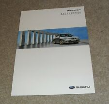 Subaru Impreza Accessories Brochure Circa 2007