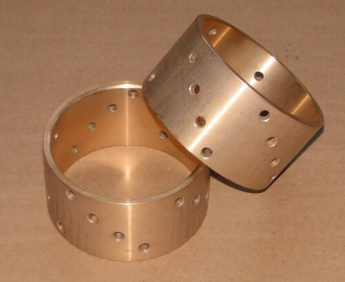 85 2x Schwimmbüchse Kupplung Bronze Buchse Lanz Bulldog 10,3ltr Ursus Pampa