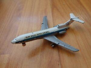 1-600-Vintage-Dyna-flites-BOEING-727-KLM-compagnie-aeree-Diecast-aerei-aereo