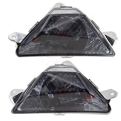NoCut Front Turn Signal For Suzuki Katana 600 750 98-07 Euro Light Blinker Clear