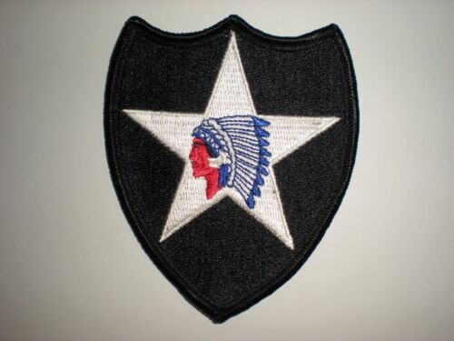 US ARMY 2ND INFANTRY DIVISION PATCH FULL COLOR