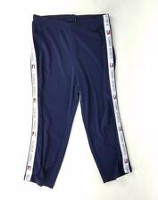 Women's TOMMY HILFIGER Small Sport Stripes Leggings Compression Capri Yoga Pants