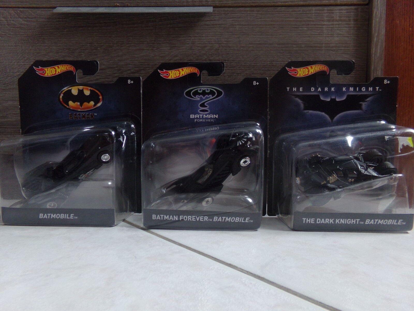 Batman set 6 Batmobile modèle voitures tumbler