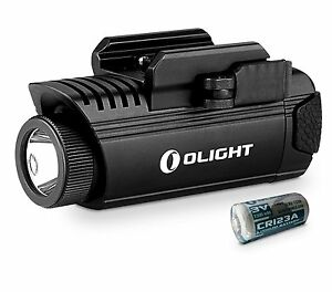 Olight-PL-1-II-Valkyrie-Cree-XP-L-450lm-Weapon-Light-With-1PC-CR123-Battery