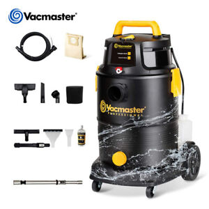 Vacmaster VK809PIWR Black Wet/Dry Canister Vacuum Cleaner