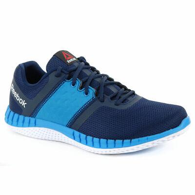 revolución reembolso masculino  NWT $94) Reebok Men's ZPrint Run Neo Navy/Blue Running Shoes (Size 13)    eBay