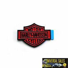 BLACK HARLEY DAVIDSON BADGE EMBLEM ORNAMENT LOGO FORD TRUCK F150 F250 F350 NEW