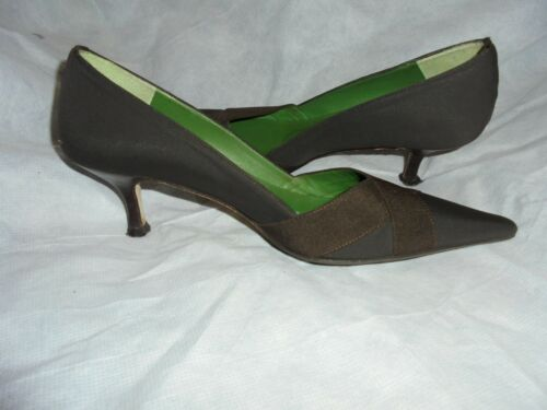 Bennett 35 Size On L Shoe 36 Women Slip Vgc Uk Textile Brown K Eu vwU5Yq8