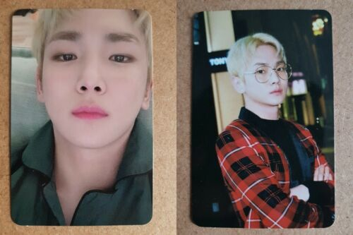 LOT of 2 SHINEE KEY Authentic Official PHOTOCARD [I WANNA BE] 1st Album Repack