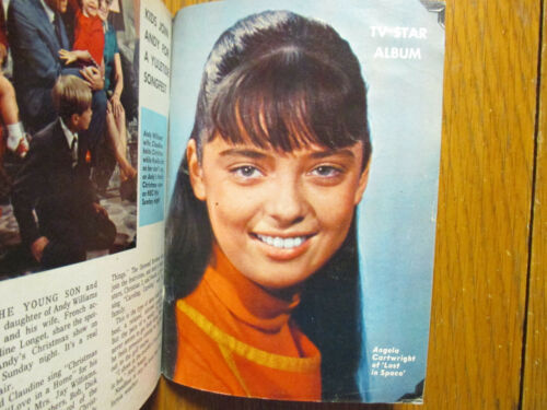 1966 Boston Sunday Herald TV Mag(ANGELA CARTWRIGHT/LOST IN SPACE/WILLIAM SHATNER