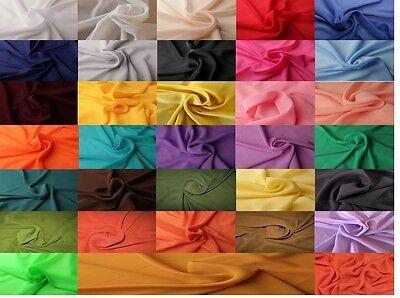CHIFFON Stoff Polyester Bekleidung Dekoration Hochzeit Vorhang Baldachin