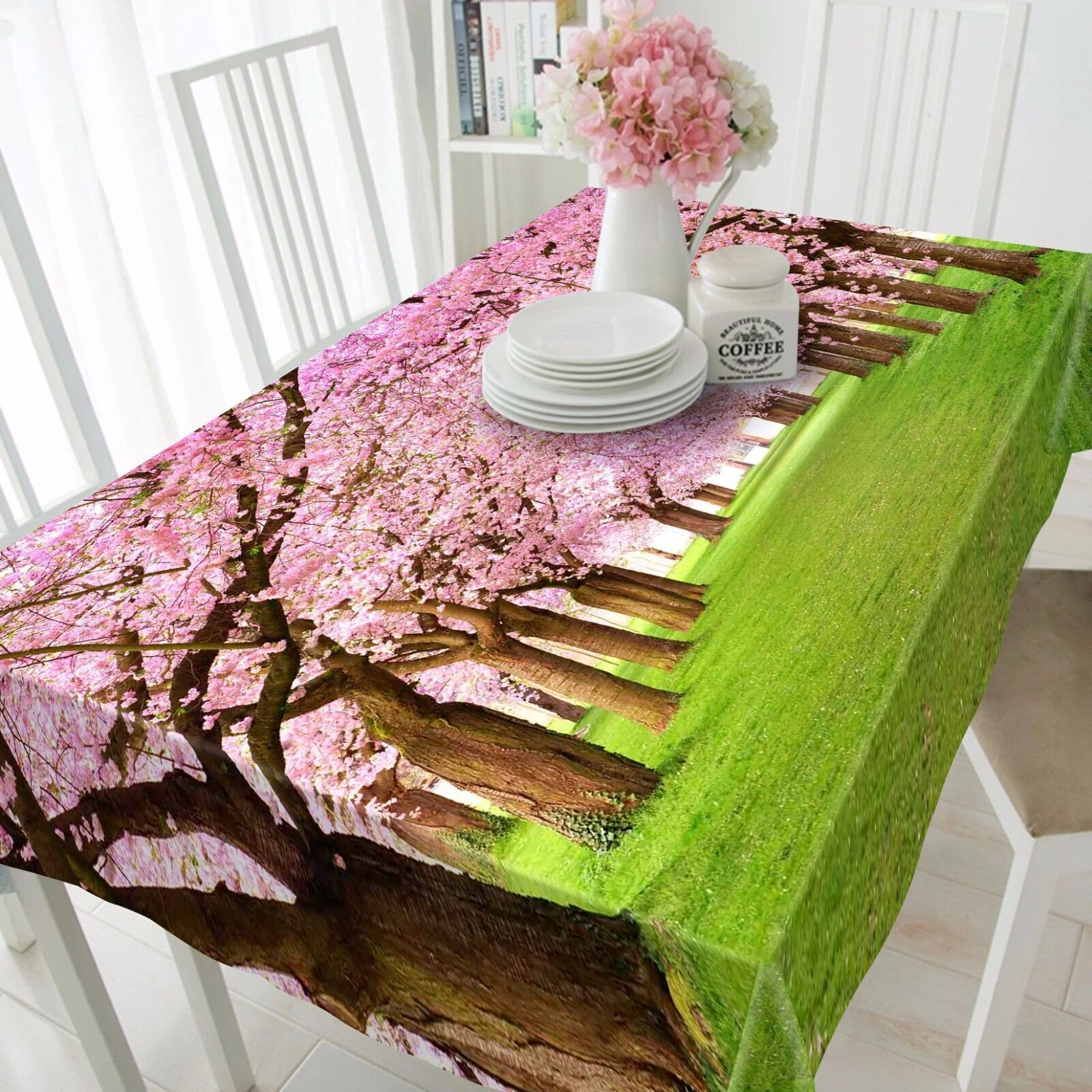3D Tree pink97 Tablecloth Table Cover Cloth Birthday Party Event AJ WALLPAPER UK