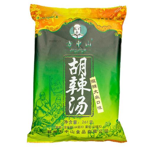 Chinese Food Snack Soup FangZhongShan HuLaTang 河南特产小吃食品方中山胡辣汤 微辣大众口味261g//袋 Zsell