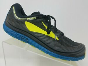 3016629c9a6 Brooks Puregrit 6 Mens Running Shoe Size 9.5 Black Training Sneaerk ...