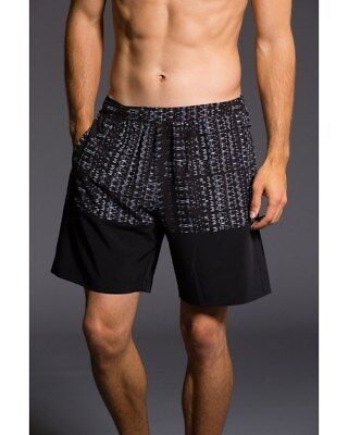 Onzie Hot Yoga Mens Board Shorts 503 Mantra