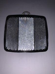 Mid-70-039-s-Schwinn-Clear-Front-Reflector-With-Bracket