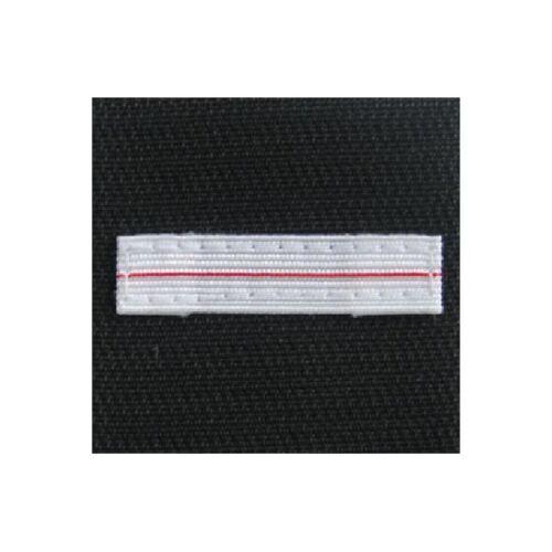 Galon Velcro Tissu 5x5cm Neuf Grade Adjudant Chef ADC SAPEUR POMPIER