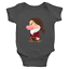 Infant-Baby-Rib-Bodysuit-Jumpsuit-Romper-Babysuit-Clothes-Seven-Dwarfs-Grumpy thumbnail 23