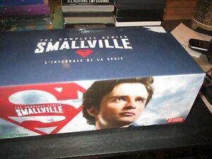 "COFFRET 60 DVD ""SMALLVILLE - L'INTEGRALE"" saison 1 2 3 4 5 6 7 8 9 & 10"