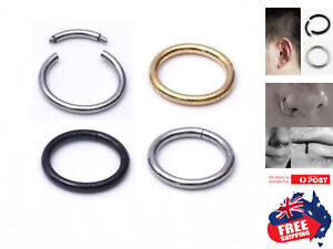 Surgical-Steel-Segment-Hoop-Ring-Septum-Captive-Helix-Nose-Ear-Lip-Piercing-1pc