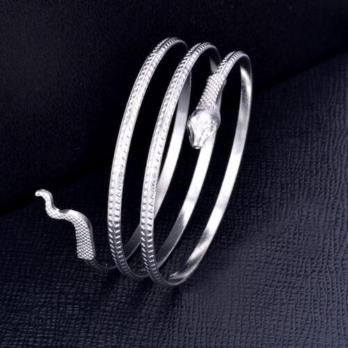 Schlange Oberarmband Snake Armreif Oberarmreif Armband Bracelet Bangles 2 f W3J4