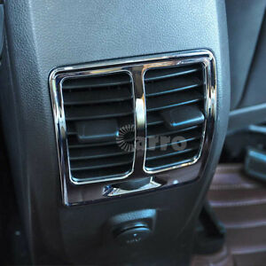 Details about Interior Rear Air Vent End AC Cover Trim Chrome For Ford  Escape Kuga 2013-2016