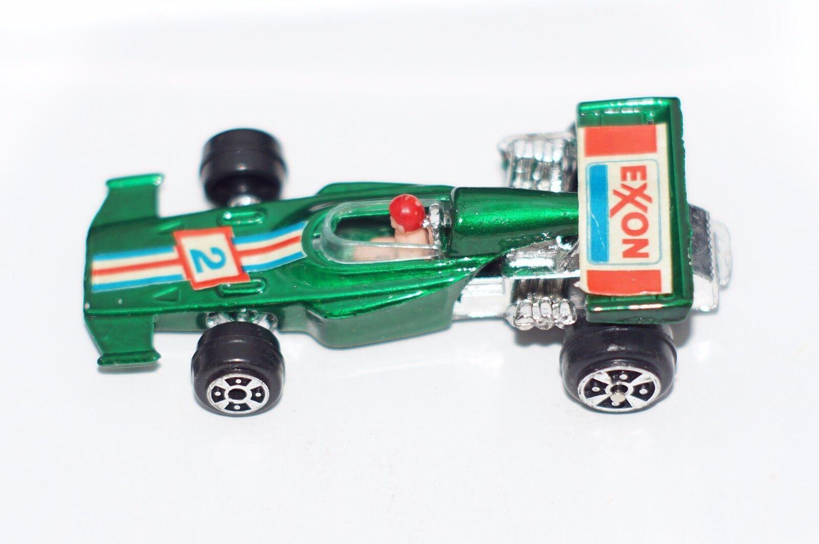 ORIGINAL Yatming (Yat Ming) - Ferrari No 1302 1302 1302 - Green color Exxon 2 - Hong Kong 52e02e