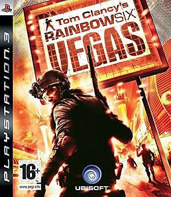 Tom Clancys Rainbow Six: Vegas (PS3), Tom Clancys Rainbow Six, Used; Very Good G