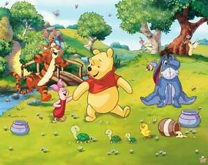 Fototapete kinderzimmer disney winnie the pooh wandbild - Habitacion winnie the pooh ...