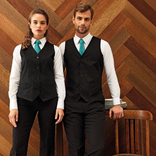 Premier Hospitality Waistcoat PR620 Waiters Hotel Restaurant Workwear Coat