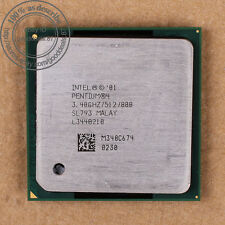 Intel Pentium 4 - 3.4 GHz (BX80532PG3400D) SL793 CPU Processor Skt 478/N 800 MHz