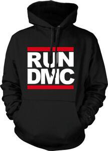 RUN-DMC-Hoodie-Rap-Hip-Hop-Roc-Rock-and-Roll-Adult-Run-D-M-C-Sweatshirt-NEW