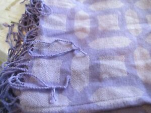 Pottery Barn Teen  purple throw new without tag