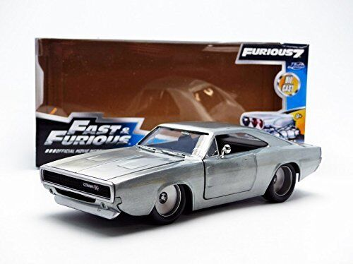 JADA 97336 - - - 1 24 SCALE DOMS 1970 DODGE CHARGER R T FAST & FURIOUS 7 508427