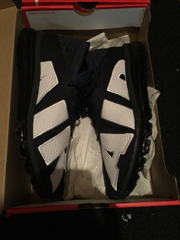NIKE AIR MAX FLAIR MEN'S SHOE 942236-400 Size 10 Obsidian Blue/White New In Box
