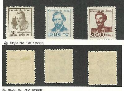 Ausdauernd Brazil, Briefmarke, #989a, 990, 992 Postfrisch Lh,1965-66 Keine Kostenlosen Kosten Zu Irgendeinem Preis