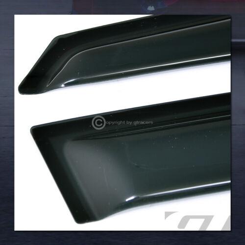 For 2013-2015 Chevy Malibu Sun//Rain Guard Smoke Vent Deflectors Window Visors 4P
