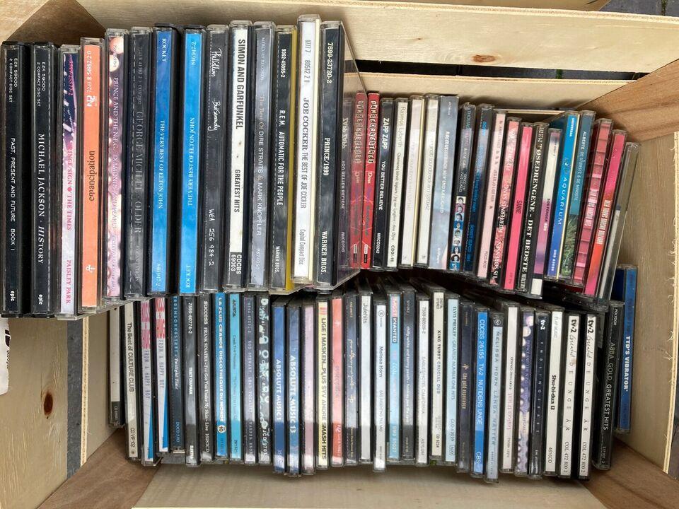 CD samling div kunstnere: diverse, pop