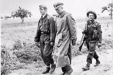 WW2 - Officier SS de la Division Hitlerjugend prisonnier des Britanniques
