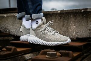 big sale d8726 45767 Image is loading Adidas-Tubular-Doom-Sock-Primeknit -BY3561mens-running-shoes-