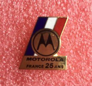 Pins-MOTOROLA-France-25-Ans