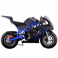 Gas Pocket Bike Motorbike Scooter 40cc Epa Engine Motorcycle Kids Teens Mini