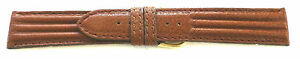 20mm-FLEURUS-LIGHT-BROWN-TEXTURED-TRI-PAD-CALF-LEATHER-WATCH-BAND-STRAP