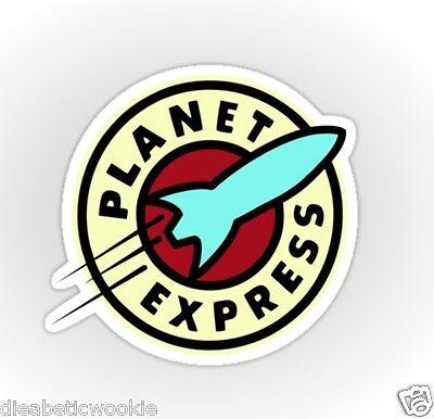 Planet Express Hypnotoad Fry Bender robot Sticker decal car laptop scrapbook
