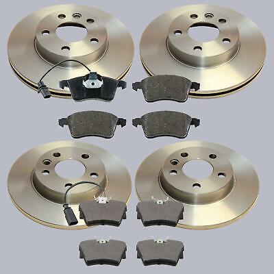 Bremse Bremsbeläge Bremsscheiben 15 Zoll vorne Voll für VW T4 1,9 2,0 2,4 2,5