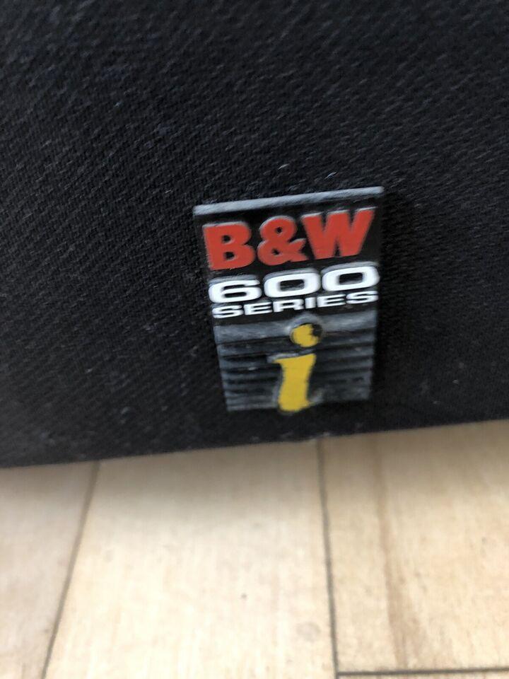 Højttaler, B&W, 600